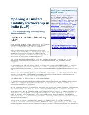 Opening a Limited Liability Partnership in India.docx