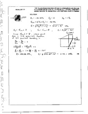 846_Mechanics Homework Mechanics of Materials Solution