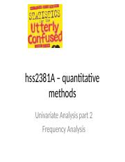 hss2381 - frequency analysis.ppt