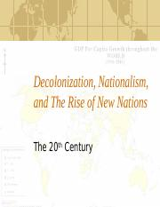 Decolonization and the Rise of New States PPT.ppt