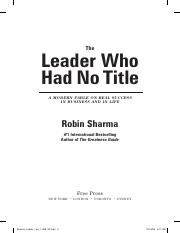The_Leader_Who_Had_No_Title_Chapter_1