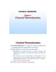 Chapter 4 (thermochemistry)
