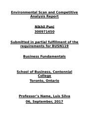 Environmental Scan and Competitive Analysis Report (NIKHIL).docx