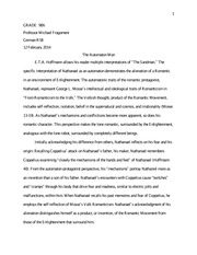 Short Essay  Annabel Lee  Grade  Annabel Lee Short Essay The  Most Popular Documents For German Rb Thesis Statement Essay Example also Essay Science  About English Language Essay