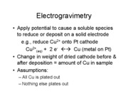 Instrumental Lecture 25 Electrochem