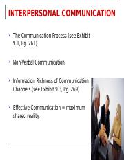 Week 3 Slides on Communication
