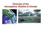 Overview atmosphweather&climate