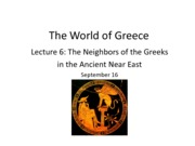 Lecture 6_Greeks and Their Neighbors