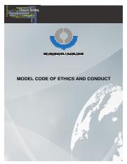 model-code-of-ethics-and-conduct