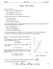 Chapter 7 Homework Solution
