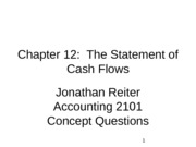 Chapter 12 Concept Questions