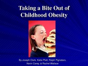 Taking a Bite Out of Childhood Obesity