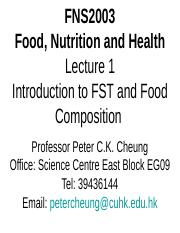 FNS2003 Lecture on Introduction and Food Composition by PCheung (2016Jan).ppt