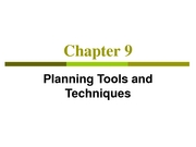 Planning_Tools_and_Techniques