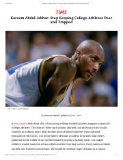 Kareem Abdul-Jabbar- College Athletes Should Be Allowed to Unionize.pdf