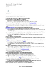 MOL214_Lecture3_Protein_Analysis Notes