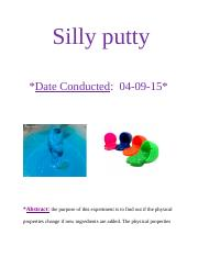 Silly putty.docx