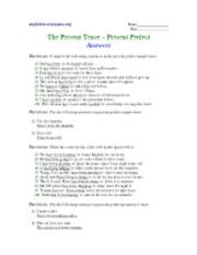 Past perfect tense - answers - englishforeveryone.org Name ...