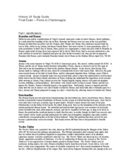 Final Exam - Study Guide- to print
