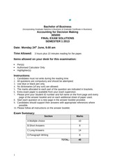 365000 2013 S1 Exam Solutions final(2)