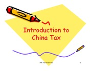 U13_China Tax Overview