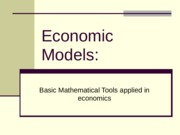288488919-Economic-Models.ppt