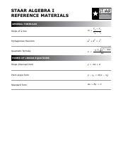 Algebra Reference Chart (Formulas).pdf - STAAR STAAR ...