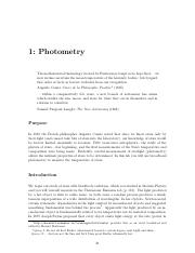 photometry(1)