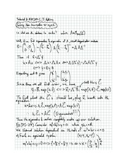 Exam 8 solution on Differential equations