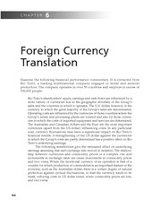 Chapter 6   Foreign Currency Translation