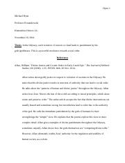 Thesis and Sources for Research Essay