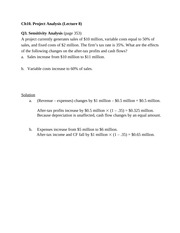 Ch10 -Lecture 8 Qs