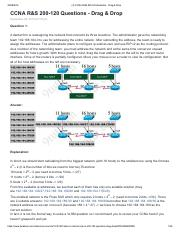 (4) CCNA R&S 200-120 Questions - Drag & Drop.pdf