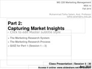 Session 5 - MG 220 MBA - 30 Aug 10