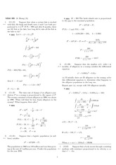 Homework 3 Solution Spring 2008 on Differential Equations with Linear Algebra 1