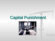 pp #6 capital punishment