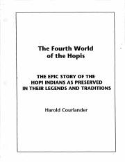Fourth World of the Hopi