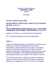 3.4.Magtajas vs. Pryce Properties and Philippine Amusements and Gambling Corporation, G.R. No. 11109