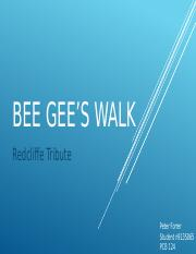 Bee Gee's walk By peter forrer.pptx