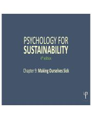 Psychology for Sustainability 4e PP Slides_ Chapter 9