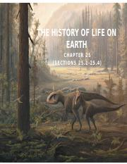 Ch.25 (Part 1) History of Life