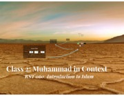 Class+2+-+Muhammad+in+Context+-+Introduction+to+Islam