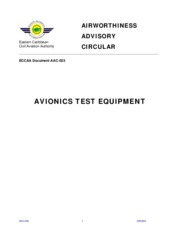 AAC 023 - Avionics Test Equipment