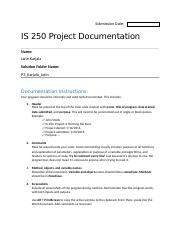 Project 3 - Documentation Form.docx