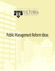 1A. Reform Ideas