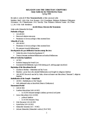 Study Guide for Third Exam-SP08