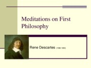 Descartes.Meditations.I.II