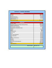 BUSI 223 - Income Statement.xls