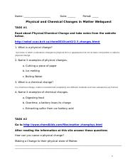 physical and chemical changes webquest updated.doc