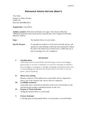 Persuasive Draft Outline Template.doc
